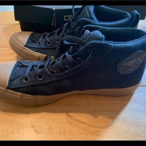 Converse All Stars Black with Gum Sole